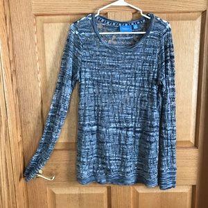 Simply Vera Wang, gray blouse, size medium